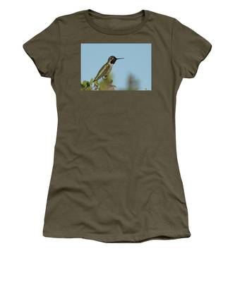 Hummingbird On Watch Women's T-Shirt