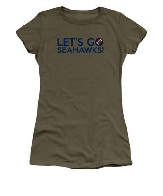 Let's Go Seahawks Women's T-Shirt