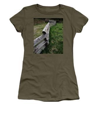 Log Fence Women's T-Shirt