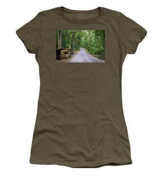 Lonely Country Road Women's T-Shirt