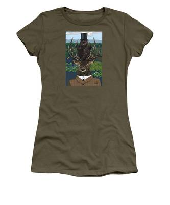 Lord Of The Manor With Hidden Pictures Women's T-Shirt