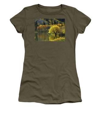 Lundy Lake Beauty Women's T-Shirt
