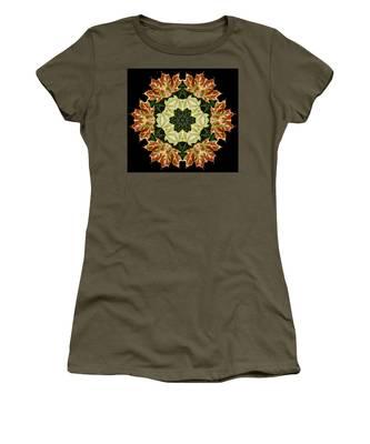 Mandala Autumn Star Women's T-Shirt