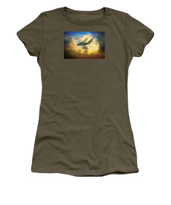 Women's T-Shirt featuring the photograph Mikoyan-gurevich Mig-15uti by Chris Lord