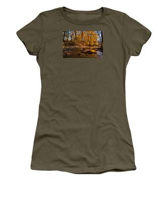 Molten Gold Women's T-Shirt