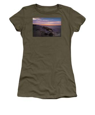 Montauk Sunset Boulders Women's T-Shirt