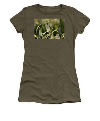Morning Snowdrops Women's T-Shirt