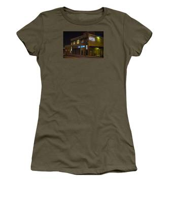 Women's T-Shirt featuring the photograph Night Lights by Break The Silhouette