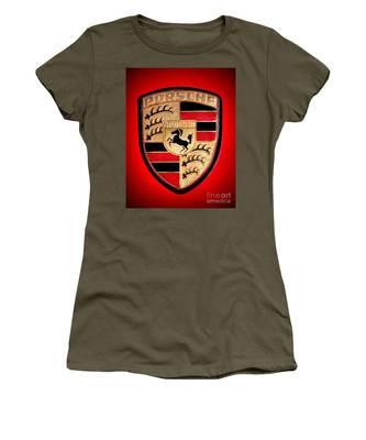 Old Porsche Badge Women's T-Shirt