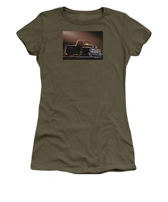 Old Sketched Pickup Women's T-Shirt