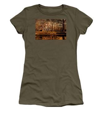 Old Village - Allaire State Park Women's T-Shirt