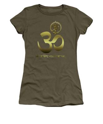 Women's T-Shirt featuring the photograph Om Shiva by Robert G Kernodle