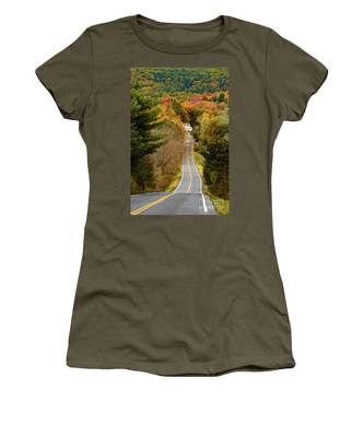 On The Road To New Paltz Women's T-Shirt