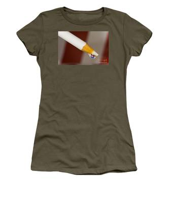 Pencil Flag Drop Women's T-Shirt