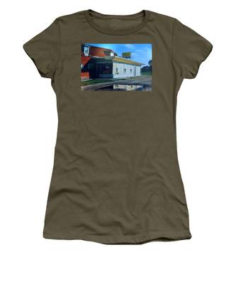 Reflections Of A Diner Women's T-Shirt