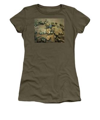 Revealed At Low Tide Women's T-Shirt
