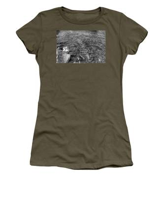 Ripples On Lake Champlain Women's T-Shirt