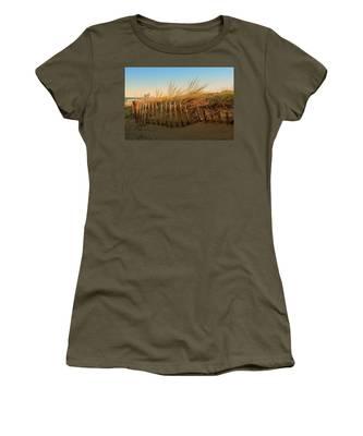 Sand Dune In Late September - Jersey Shore Women's T-Shirt
