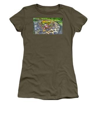Sensory Garden At Laurelwood Arboretum Women's T-Shirt