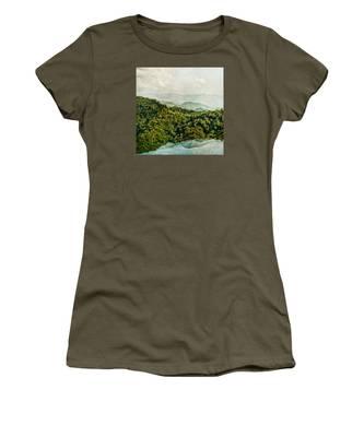 Smoky Mountain Reflections Women's T-Shirt