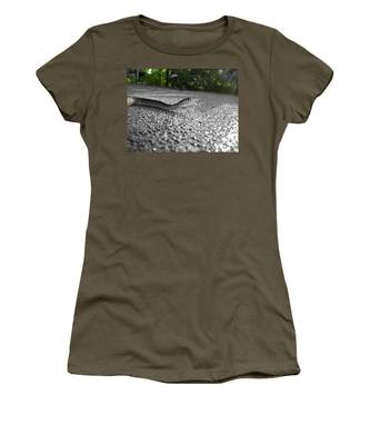 Snake In The Sun Women's T-Shirt