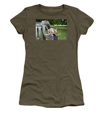 Squirrel Bench Women's T-Shirt