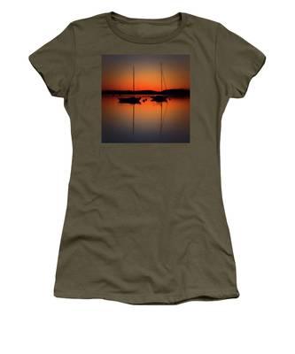 Summer Sunset Calm Anchor Women's T-Shirt