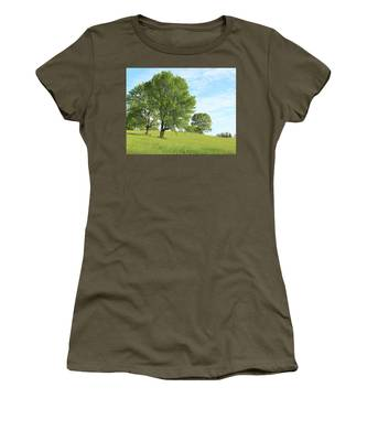 Summer Trees Women's T-Shirt