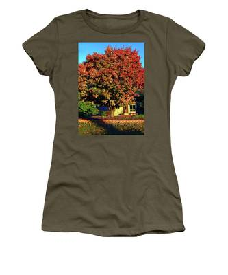 Sun-shining Autumn Women's T-Shirt