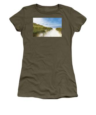 The First Look At The Sea Women's T-Shirt