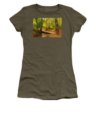 There Is Peace - Allaire State Park Women's T-Shirt