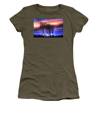 Trees And Twilight Women's T-Shirt