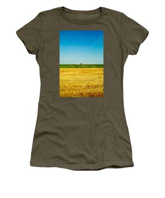 Tricolor With Tractor Women's T-Shirt