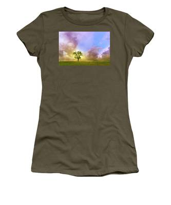 Waiting For The Storm Women's T-Shirt