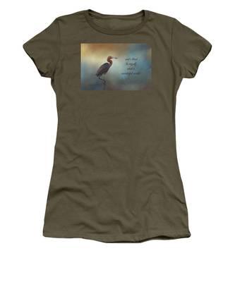 What A Wonderful World Women's T-Shirt