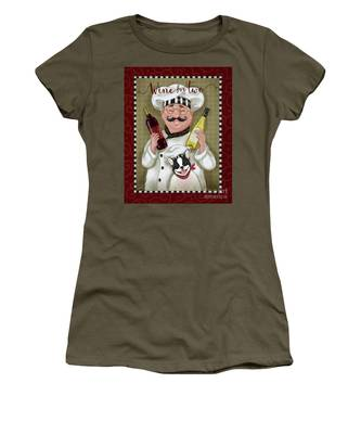 Wine Chef-wine For Two Women's T-Shirt