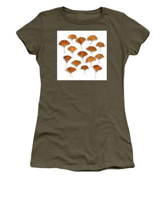 Gingkos Fall Women's T-Shirt