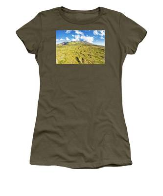 Snowcapped Volcano II Women's T-Shirt