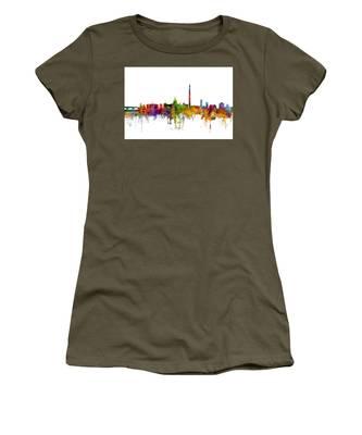 Washington Dc Skyline Women's T-Shirt