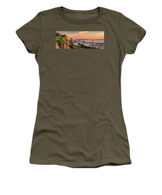 A Nice Evening In The Park - Panorama Women's T-Shirt
