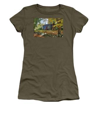 Autumn At Short House Women's T-Shirt