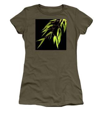 Bamboo Leaves 0580a Women's T-Shirt
