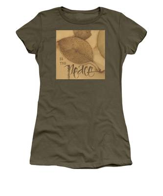 Be The Peace Women's T-Shirt