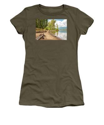 Beach At Mable Lake Women's T-Shirt
