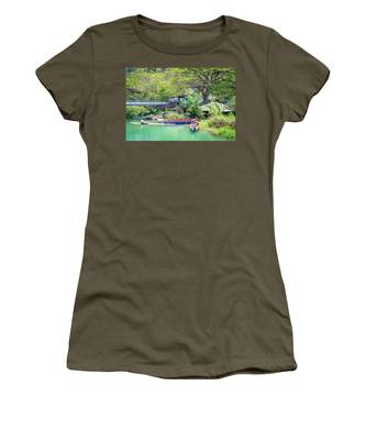 Boat And Rafting Tours Women's T-Shirt