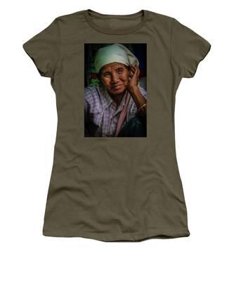 Burmese Lady Women's T-Shirt by Chris Lord