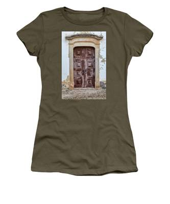 Church Door Of Obidos Women's T-Shirt