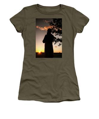 Corby At Sunset Women's T-Shirt