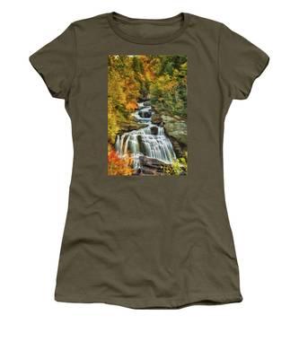 Cullasaja Falls Women's T-Shirt