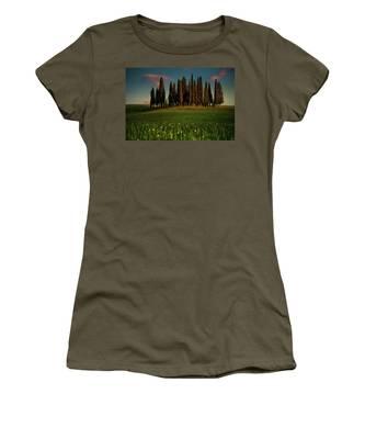 Cypress Circle Women's T-Shirt by Chris Lord
